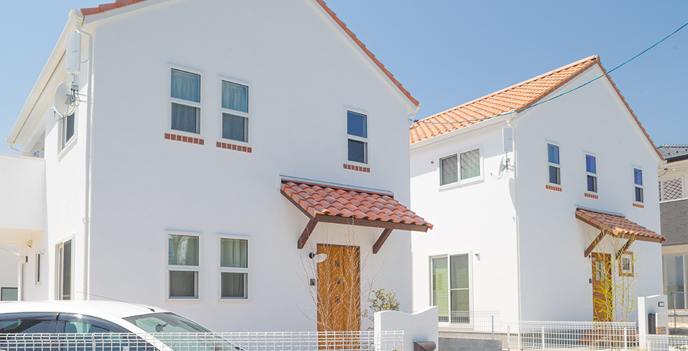 「こんな家に住みたい」をカタチにしました。casa carina(カーサ カリーナ)